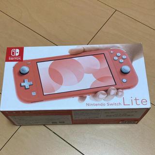 Nintendo Switch - 最終値下げ!ニンテンドースイッチライト本体 コーラル 中古美品⭐︎