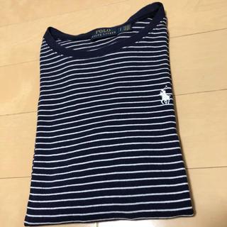 POLO RALPH LAUREN - 【ほぼ新品】POLO ポロラルフローレン ボーダー 長袖Tシャツ Sサイズ