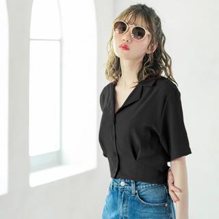 GRL - オープンカラーショートシャツ