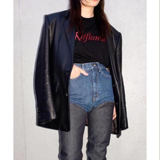 ジョンローレンスサリバン(JOHN LAWRENCE SULLIVAN)のjohnlawrencesullivan 18ss 刺繍tシャツ カットソー(Tシャツ/カットソー(半袖/袖なし))