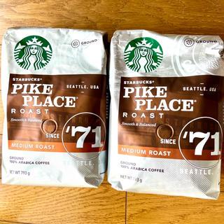 Starbucks Coffee - スターバックス パイクプレイスロースト コーヒー豆 コストコ 粉