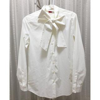 DOUBLE STANDARD CLOTHING - ダブルスタンダードクロージング ボウタイシャツ ブラウス