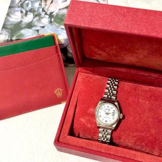 ROLEX - ✨美品✨ROLEX⌚️DATE JUST WGベゼル 腕時計