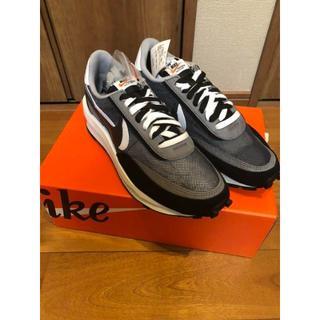 "Sacai × Nike LDWaffle ""Black""(スニーカー)"
