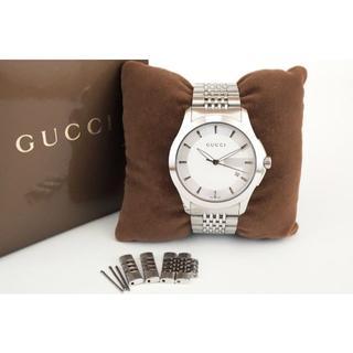 Gucci - GUCCI グッチ G-TIMELESS Gタイムレス デイト クォーツ メンズ