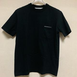 ジョンローレンスサリバン(JOHN LAWRENCE SULLIVAN)のjohnlawrencesullivan ポケットロゴ Tシャツ カットソー(Tシャツ/カットソー(半袖/袖なし))