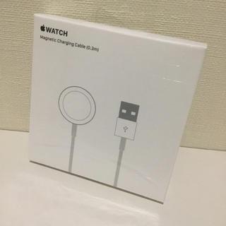 アップルウォッチ(Apple Watch)のアップルウォッチ Apple Watch磁気充電ケーブル(0.3m)Type-A(バッテリー/充電器)