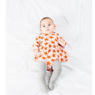 こどもビームス - 【新品】Picnik★Baby DRESS スカート付きロンパース