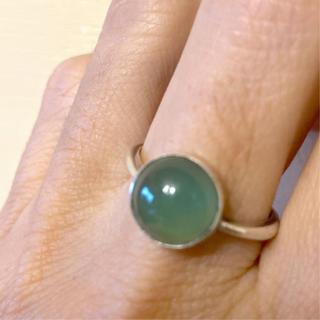 アゲートのリング サイズ16.5位(リング(指輪))