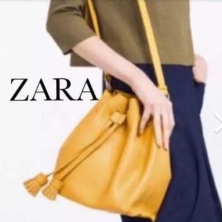 ZARA - ZARA   タッセル付きショルダーバッグ