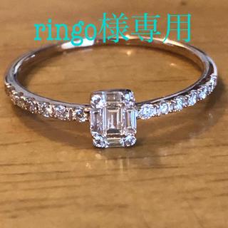 K18PGダイヤモンドリング(リング(指輪))