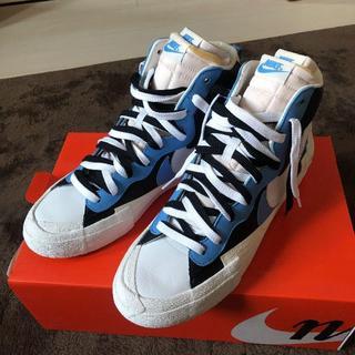 27.5 Sacai x Nike Blazer Mid BV0072-001(スニーカー)