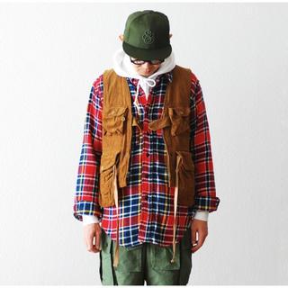 Engineered Garments - エンジニアードガーメンツ ゲームベスト コーデュロイ