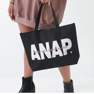 ANAP - ANAPロゴトートバッグ タイムセール❤️