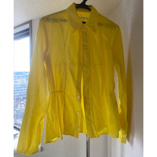 マルタンマルジェラ(Maison Martin Margiela)のJULIEN DAVID イエロー シャツ ジャケット(シャツ/ブラウス(半袖/袖なし))