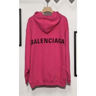 バレンシアガ(Balenciaga)のバレンシアガ18新作フーディ☆バックロゴパーカー(パーカー)