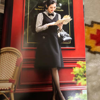 M'S GRACY - エムズグレイシーカタログ掲載ジャンバースカート