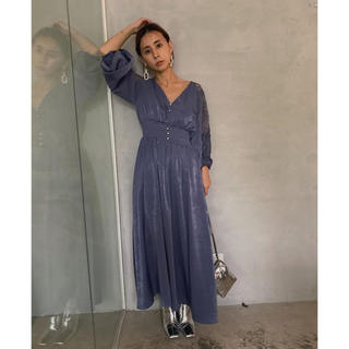 Ameri VINTAGE - Ameri VINTAGE  half lace dress ワンピース