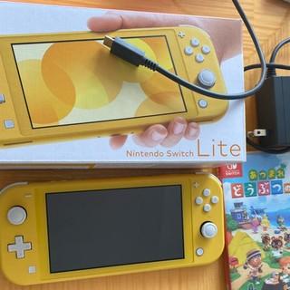 Nintendo Switch - Nintendo Switch Lite イエロー どうぶつの森セット