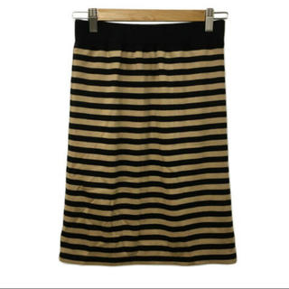 ユナイテッドアローズ(UNITED ARROWS)のUNITED ARROWS ボーダースカート (ひざ丈スカート)