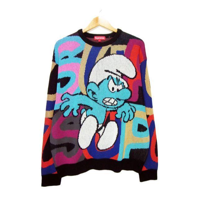 Supreme(シュプリーム)のシュプリーム■20AW Smurfs Sweaterスマーフニットセーター メンズのトップス(ニット/セーター)の商品写真