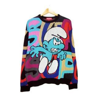 Supreme - シュプリーム■20AW Smurfs Sweaterスマーフニットセーター