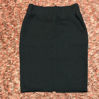 KBF - ●KBF スウェット スカート 裏起毛    ブラック    サイズ F