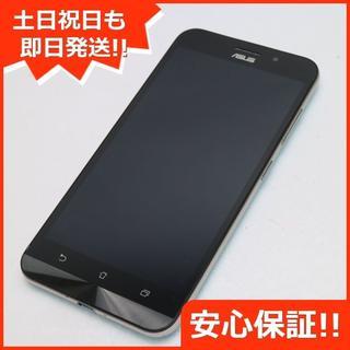 エイスース(ASUS)の美品 SIMフリー zenfone Max ZC550KL ブルー (スマートフォン本体)