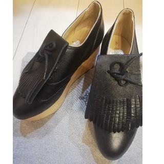 ヴィヴィアンウエストウッド(Vivienne Westwood)の新品未使用 ロッキンホース ゴルフ UK3(ローファー/革靴)