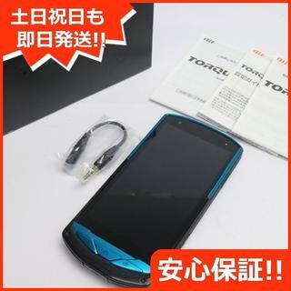 キョウセラ(京セラ)の美品 TORQUE G02 ブルー(スマートフォン本体)