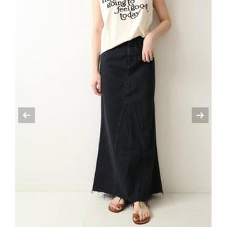 Plage - 【Healthy denim/ヘルシーデニム】LONG SLIT スカート2