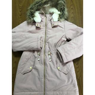 エイチアンドエム(H&M)のH&Mのフード付きブルゾン(美品)ピンク140cm(ジャケット/上着)