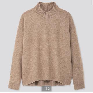 UNIQLO - ユニクロ♡ニット スフレヤーンモックネックセーター