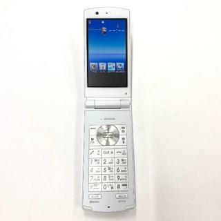 エヌイーシー(NEC)のdocomo N-01E ホワイト(スマートフォン本体)