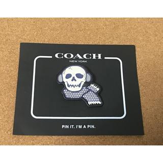 コーチ(COACH)のコーチ ピンバッジ ドクロ(バッジ/ピンバッジ)