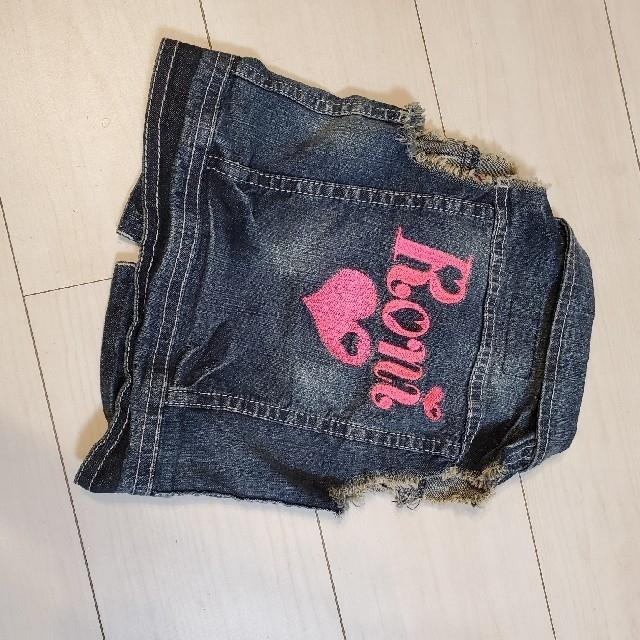RONI(ロニィ)のRONI デニムビスチェ SS100110 キッズ/ベビー/マタニティのキッズ服女の子用(90cm~)(その他)の商品写真