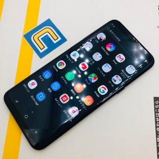 ギャラクシー(Galaxy)の2-5894  Galaxy S8+ SC-03J ブラック(スマートフォン本体)