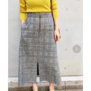 IENA - IENA チェック スカート