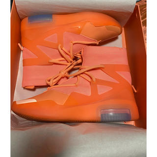 フィアオブゴッド(FEAR OF GOD)のnike fear of god 1 orange pulse 27cm(スニーカー)
