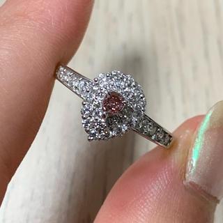 Pt900 ピンクダイヤ ダイヤモンド リング(リング(指輪))