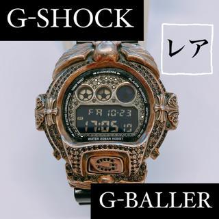 ジーショック(G-SHOCK)のG-SHOCK カスタム DW-6900 スカル G-BALLER シルバー(腕時計(デジタル))