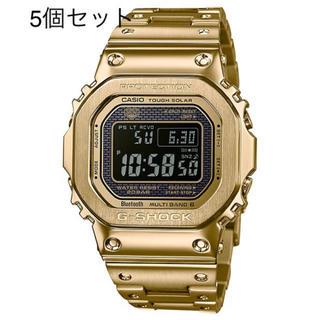 ジーショック(G-SHOCK)の<5個セット> G-SHOCK GMW-B5000GD-9JF ゴールド(腕時計(デジタル))