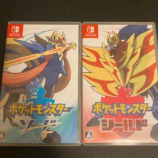 Nintendo Switch - ポケットモンスター ソード シールドSwitch