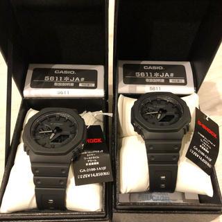 ジーショック(G-SHOCK)のCASIO G-SHOCK GA21001A1JF 二個セット(腕時計(デジタル))
