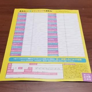 ジャニーズジュニア(ジャニーズJr.)のMyojo 2020年12月号 Jr.大賞 応募券(アート/エンタメ/ホビー)