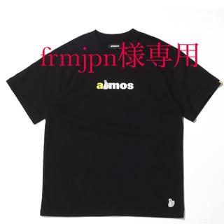 ヴァンキッシュ(VANQUISH)のFR2 x atmos RABBIT LOGO TEE BLACK XL(Tシャツ/カットソー(半袖/袖なし))