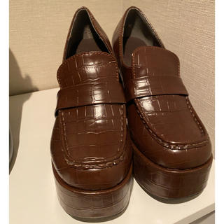エスペランサ(ESPERANZA)のesperanza 厚底ローファー(ローファー/革靴)