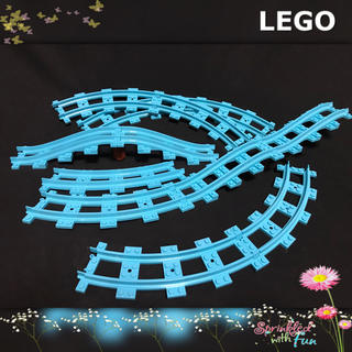 Lego - LEGO 線路 レゴフレンズ ジェットコースター レール
