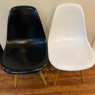 イームズ(EAMES)の椅子 イームズチェア ダイニングチェア 2点セット(ダイニングチェア)