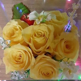 薔薇のプリザーブドフラワー(プリザーブドフラワー)